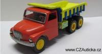 KDN - stará hračka TATRA 138 - Vyklápěčka, sklopka