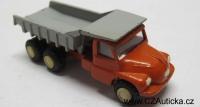 SMĚR - Starý model TATRA 138 - zinkoslitina, pěkný 1