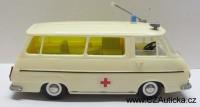 KDN - stará ŠKODA 1203 - Sanita, ambulance1