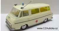 KDN - stará ŠKODA 1203 - Sanita, ambulance3