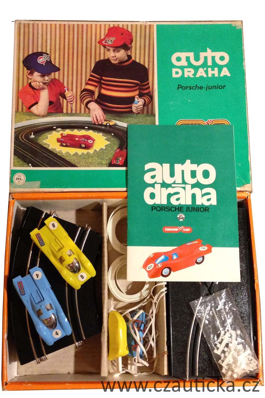 Autodraha PORSCHE JUNIOR krabice