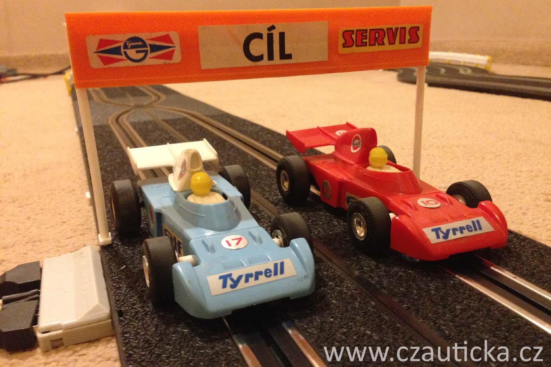 Autodraha Tyrrell auticka