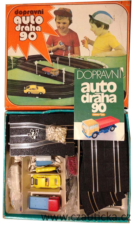 Dopravni autodraha 90 krabice