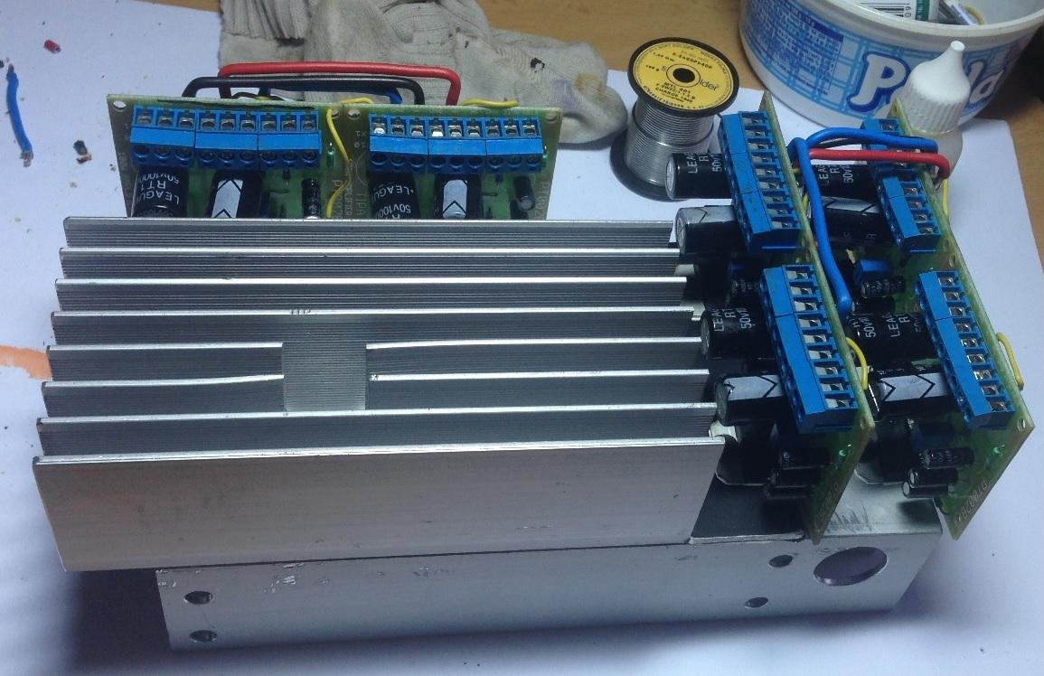 Zesilovač TDA7293 chlazení