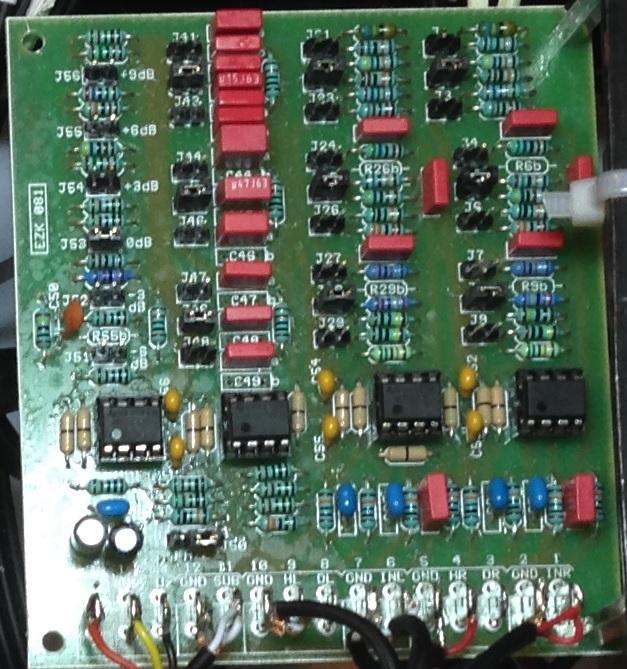 Zesilovač TDA7293 výhybka